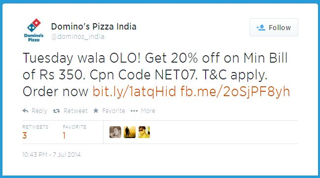 Twitter-Coupon-Dominos