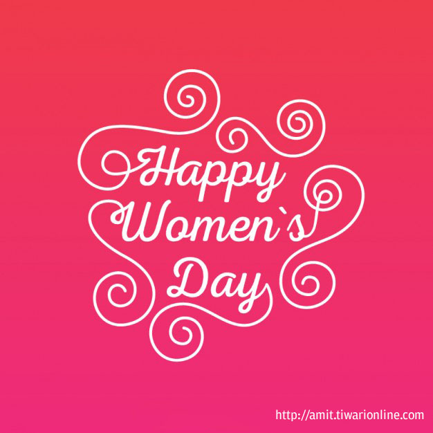 Happy Women's Day !!